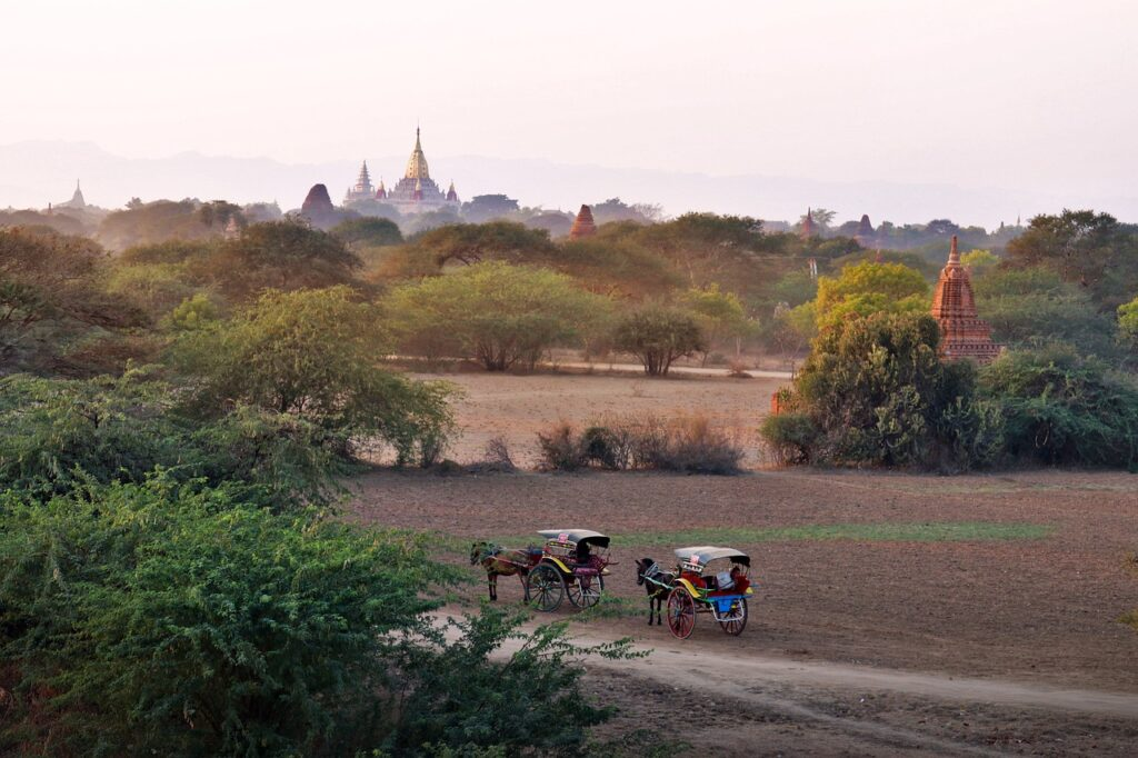 Relaxing holiday in Myanmar