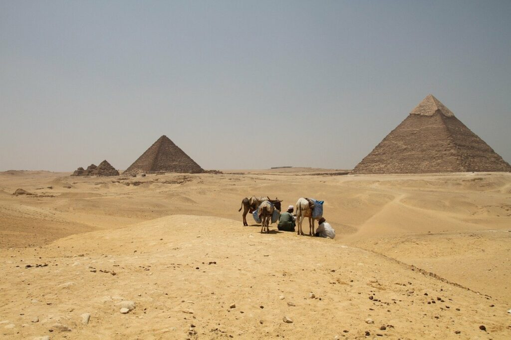 Egypt as a vacation destination